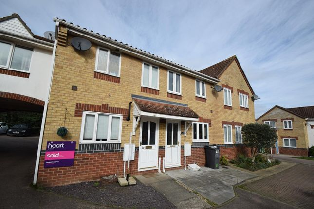 Thumbnail Terraced house to rent in Epping Way, Witham, Essex