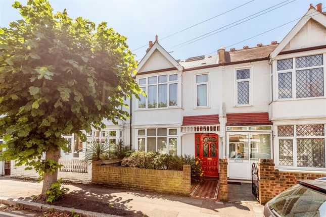 Thumbnail Terraced house for sale in Edna Road, Raynes Park