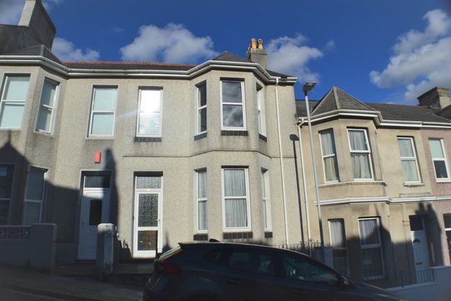 Thumbnail Terraced house to rent in Cecil Avenue, Plymouth