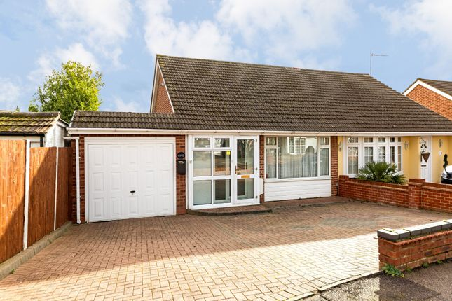 Thumbnail Semi-detached bungalow for sale in Sicklefield Close, Cheshunt, Waltham Cross