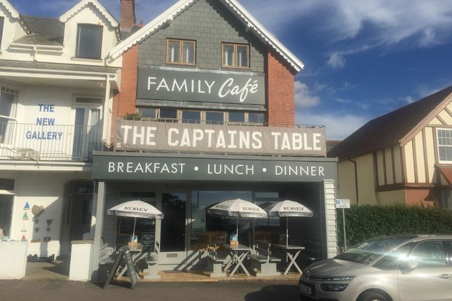 Thumbnail Restaurant/cafe for sale in 7 West Road, Woolacombe