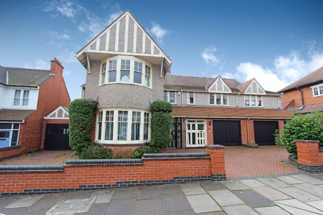 Thumbnail Detached house for sale in Letchworth Road, Leicester