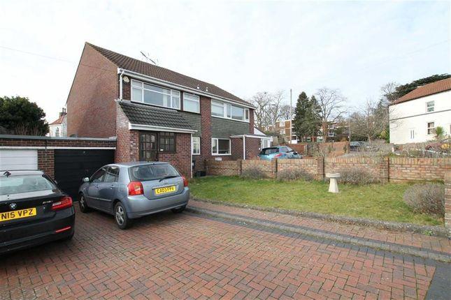 Thumbnail Semi-detached house for sale in Avonwood Close, Shirehampton, Bristol