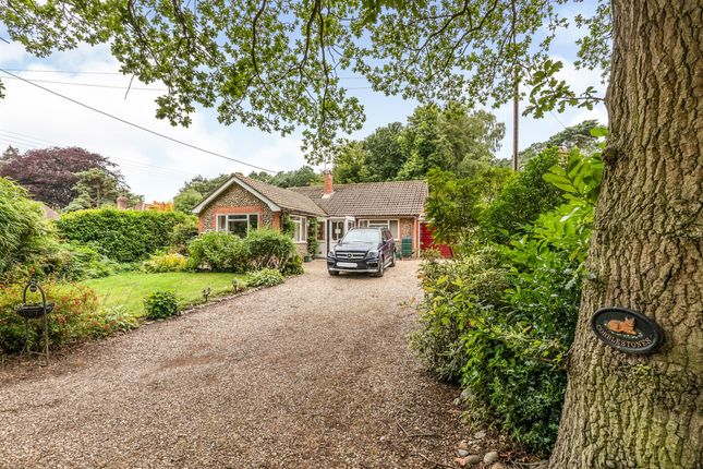 Thumbnail Detached bungalow for sale in Vale Road, High Kelling, Holt