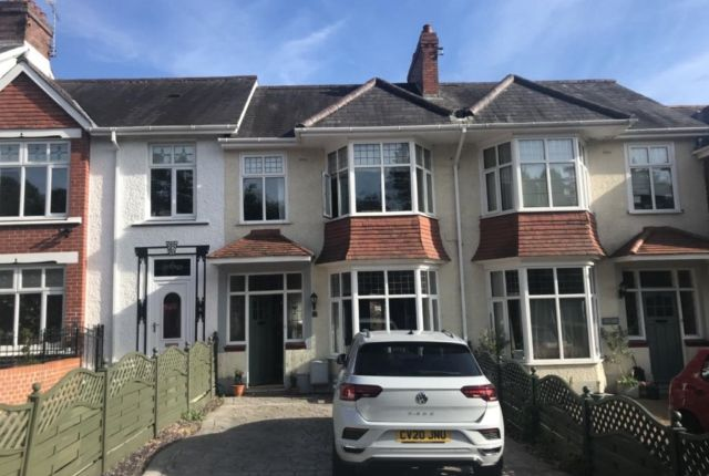 4 bed terraced house to rent in Penlan Crescent, Uplands, Swansea SA2