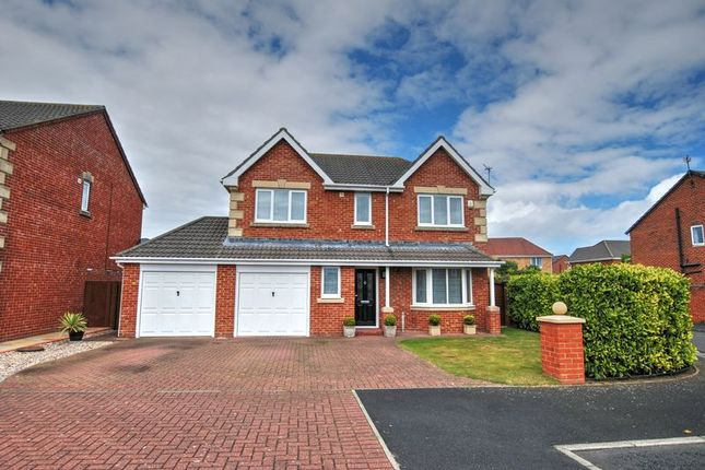 Detached house for sale in Meadowsweet Close, South Beach Estate, Blyth