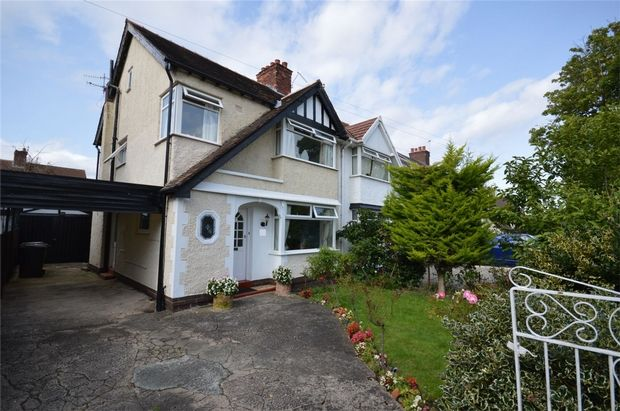 Semi-detached house for sale in Acreville Road, Bebington, Merseyside
