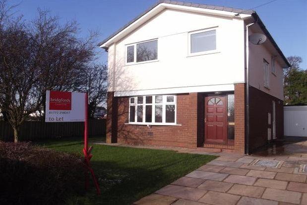 Thumbnail Detached house to rent in Cedar Walk, Elswick, Preston