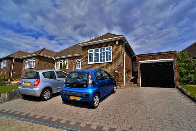 Thumbnail Semi-detached bungalow for sale in Marling Way, Gravesend, Kent