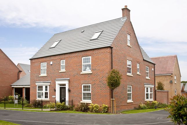 "Thumbnail Detached house for sale in ""Moorecroft"" at Newton Lane, Wigston"