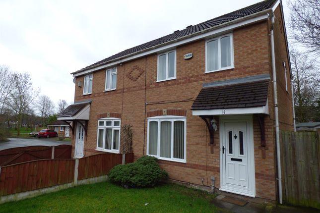 3 bed semi-detached house for sale in Foxfield Close, Fearnhead, Warrington