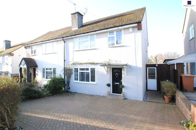 Thumbnail Semi-detached house to rent in Broomfield Rise, Abbots Langley