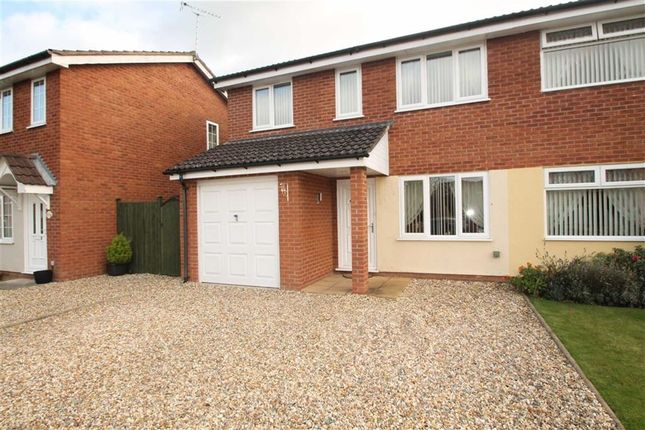 Thumbnail Semi-detached house to rent in Aston Close, Oswestry