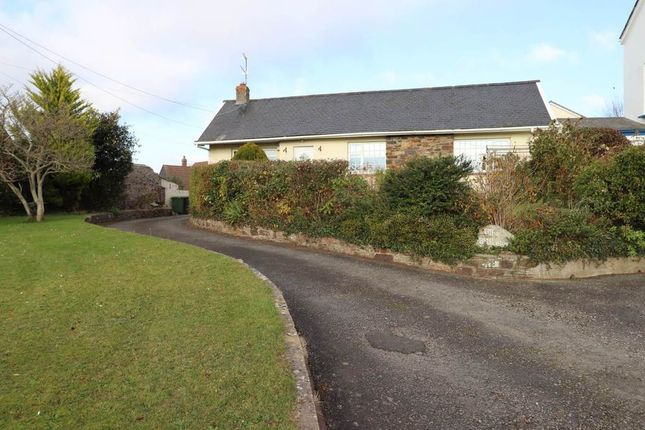 Thumbnail Detached bungalow for sale in Bickington, Barnstaple