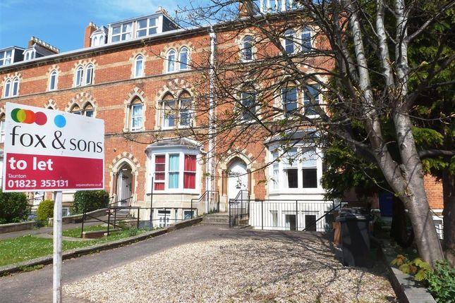 Thumbnail Flat to rent in Park Street, Taunton