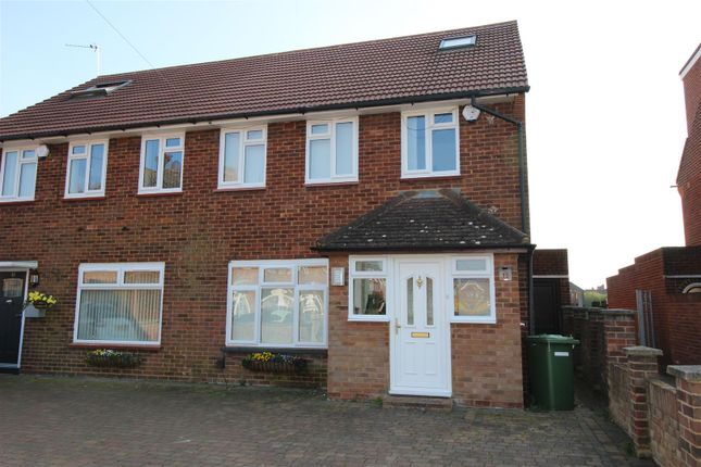 Thumbnail Semi-detached house to rent in Maygoods Close, Cowley, Middlesex
