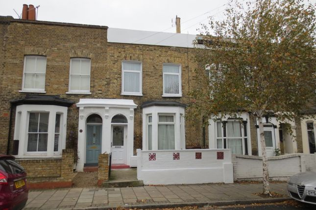 Thumbnail Terraced house to rent in Clifden Road, London