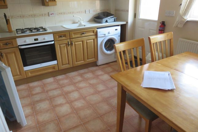 Thumbnail Terraced house to rent in Lewis Crescent, Exeter