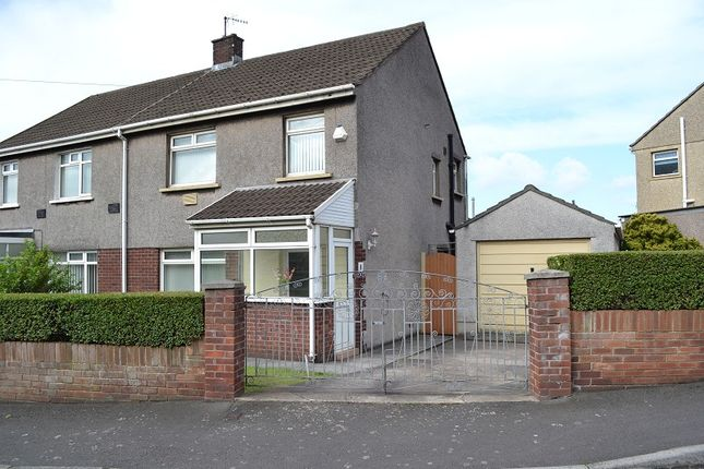 Thumbnail Semi-detached house for sale in Ty-Groes Drive, Margam, Port Talbot, Neath Port Talbot.