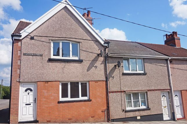 Thumbnail End terrace house for sale in Duffryn Street, Tir-Y-Berth