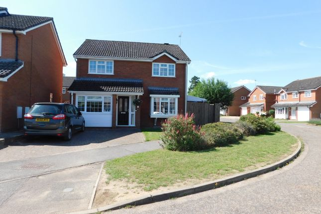 Detached house for sale in The Brickfields, Stowmarket