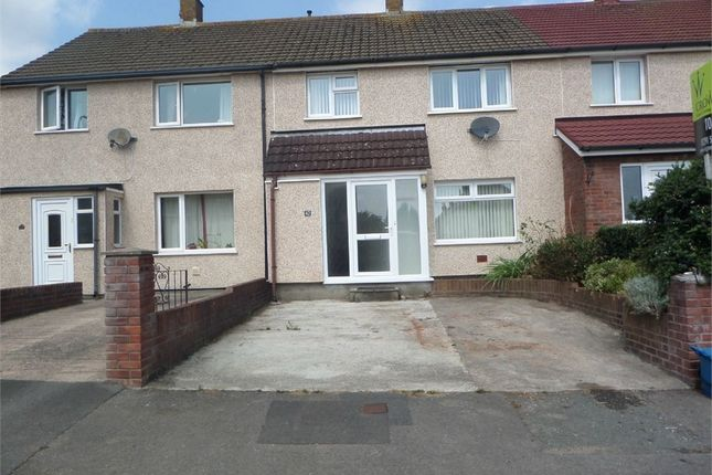 Thumbnail Terraced house to rent in Aust Crescent, Bulwark, Chepstow, Monmouthshire