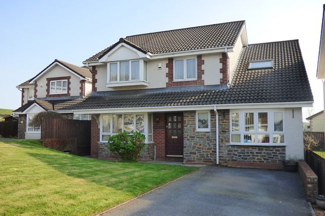 Thumbnail Detached house for sale in The Meadows, Cimla, Neath .