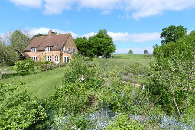 Thumbnail Detached house for sale in Chalky Lane, Dogmersfield, Hook, Hampshire