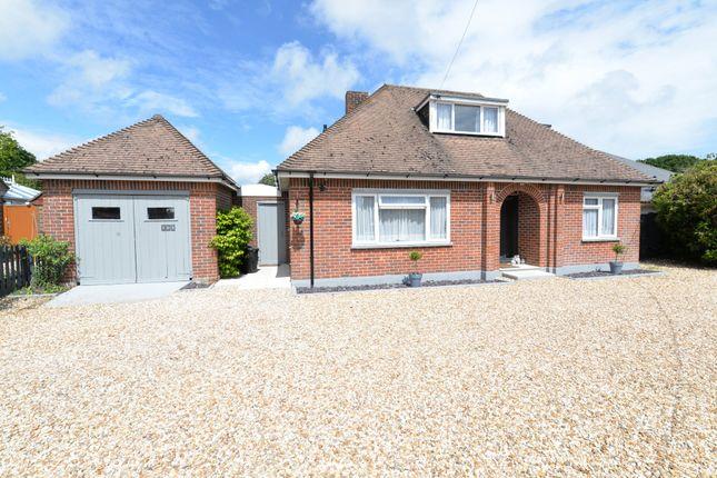 Thumbnail Detached bungalow for sale in Everton Road, Hordle, Lymington