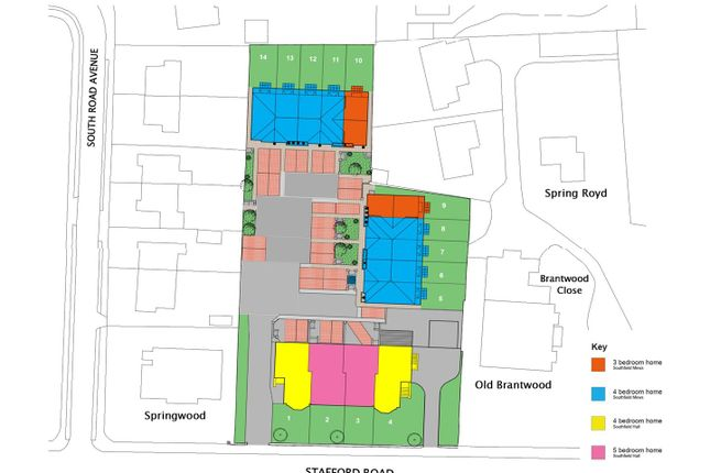 Thumbnail Property for sale in Plot 3 Southfield Hall, Stafford Road, Halifax