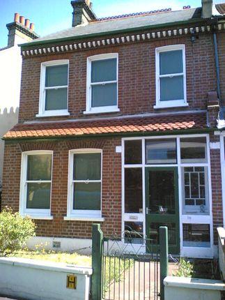 Thumbnail End terrace house to rent in Silverleigh Road, Thornton Heath, Surrey