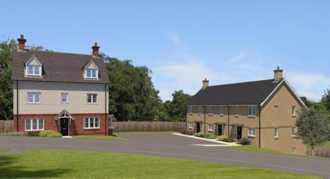 Thumbnail End terrace house for sale in Oakline, Heathfield, East Sussex