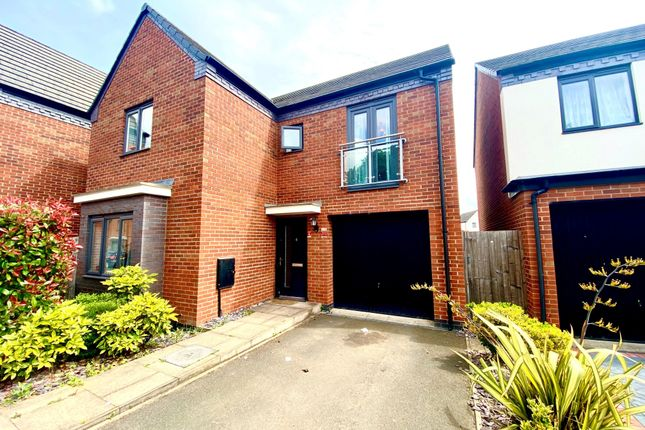 Thumbnail Detached house to rent in Ranger Drive, Wolverhampton