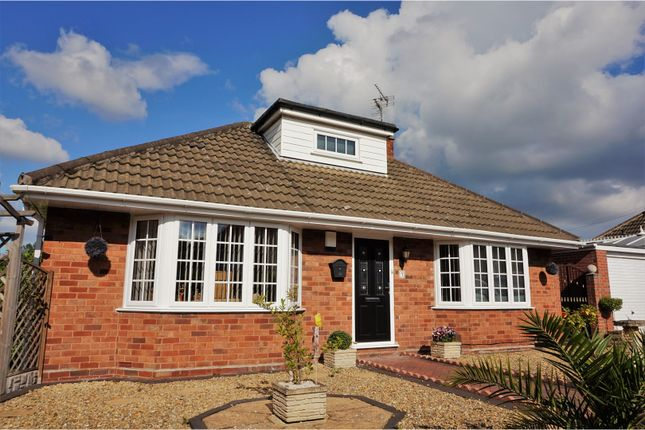 Thumbnail Detached bungalow for sale in Abbotts Close, Telford