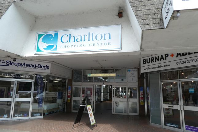 Retail premises to let in Charlton Arcade, Charlton Centre High Street, Dover