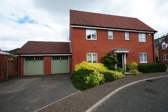 Thumbnail Detached house for sale in Upgate, Tharston, Norwich
