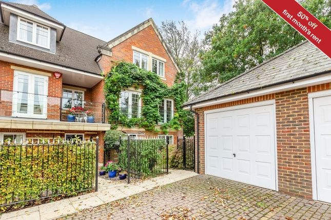 Thumbnail End terrace house to rent in St. Josephs Mews, Beaconsfield