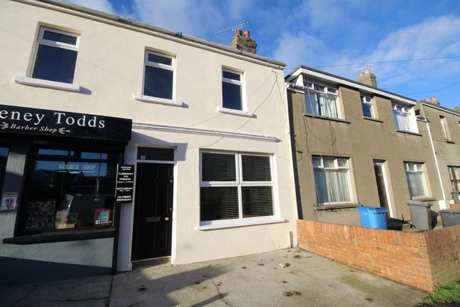 Thumbnail Terraced house to rent in Bingham Street, Bangor