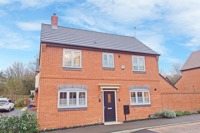3 bed detached house for sale in Beck Crescent, Loughborough