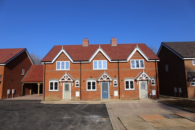 Thumbnail End terrace house for sale in Low Meadow, Brook End, Weston Turville