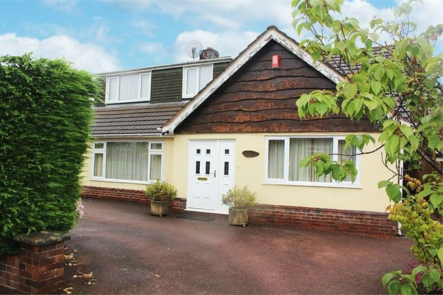 Thumbnail Detached bungalow for sale in Geneva Drive, Newcastle, Staffordshire