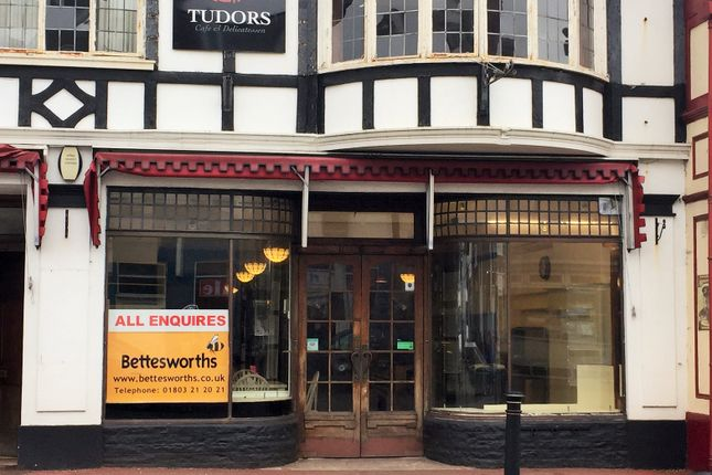 Restaurant/cafe for sale in Fore Street, Torquay