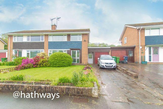 Thumbnail Semi-detached house for sale in Hafod Road, Ponthir, Newport
