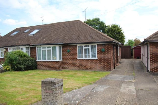 Thumbnail Semi-detached bungalow for sale in Lilian Crescent, Hutton, Brentwood, Essex