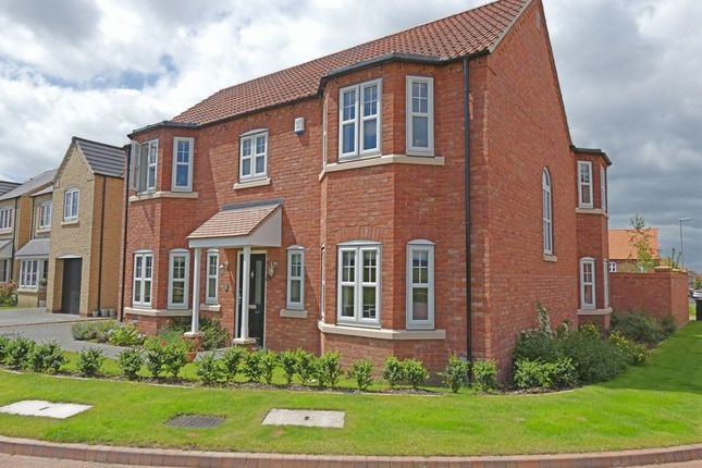 Thumbnail Detached house for sale in Loweswater Close, Waddington, Lincoln
