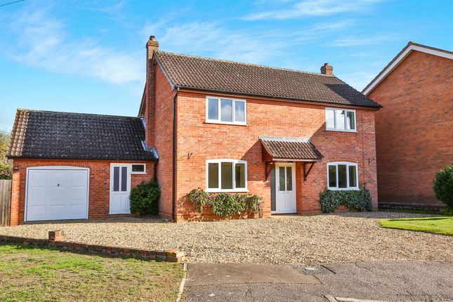 Thumbnail Detached house for sale in Curson Road, Tasburgh, Norwich