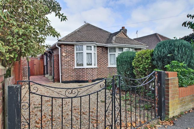 Thumbnail Detached bungalow for sale in Selbourne Avenue, New Haw, Surrey