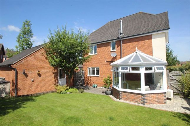 Thumbnail Detached house for sale in Weaver Close, Oswestry