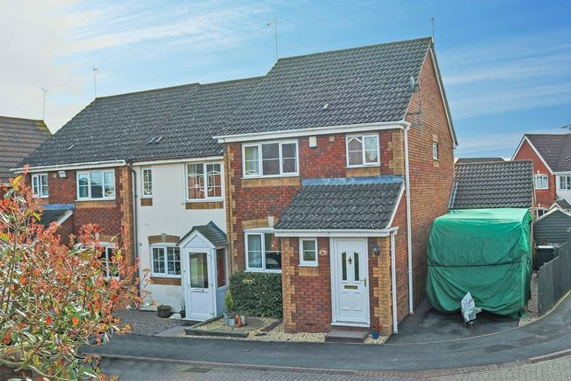 Thumbnail End terrace house for sale in Cleobury Close, Brockhill, Redditch