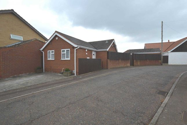 Thumbnail Detached bungalow for sale in Wood View Court, New Costessey, Norwich